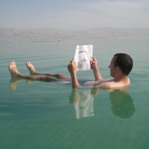 من البحر الميت مباشرة Dead-sea